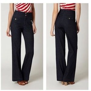 Anthropologie Elevenses High Waist Trousers jeans